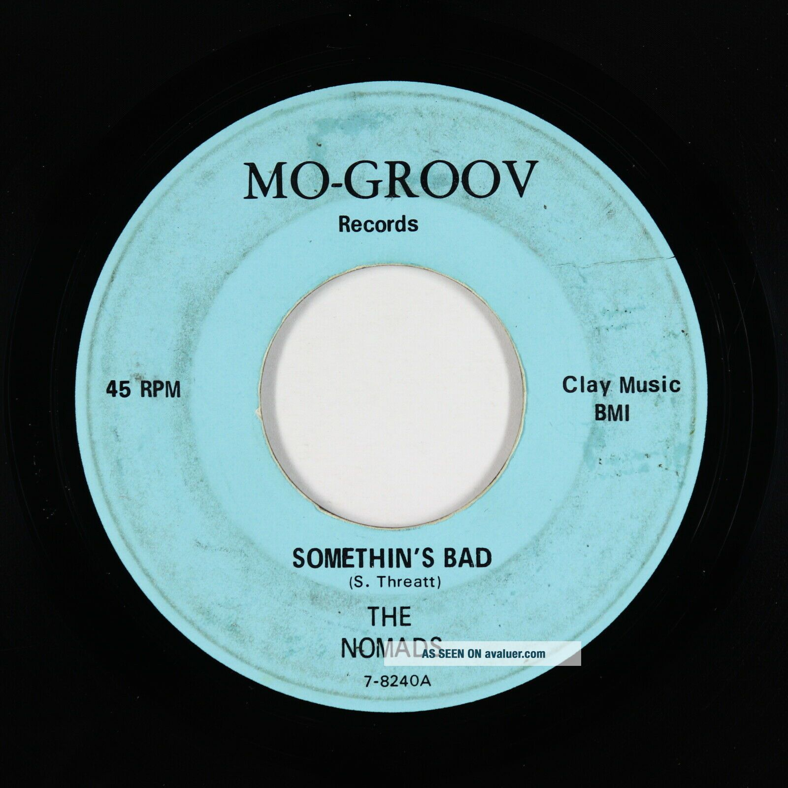Northern Soul 45 - Nomads - Somethin ' s Bad - Mo - Groov - mp3