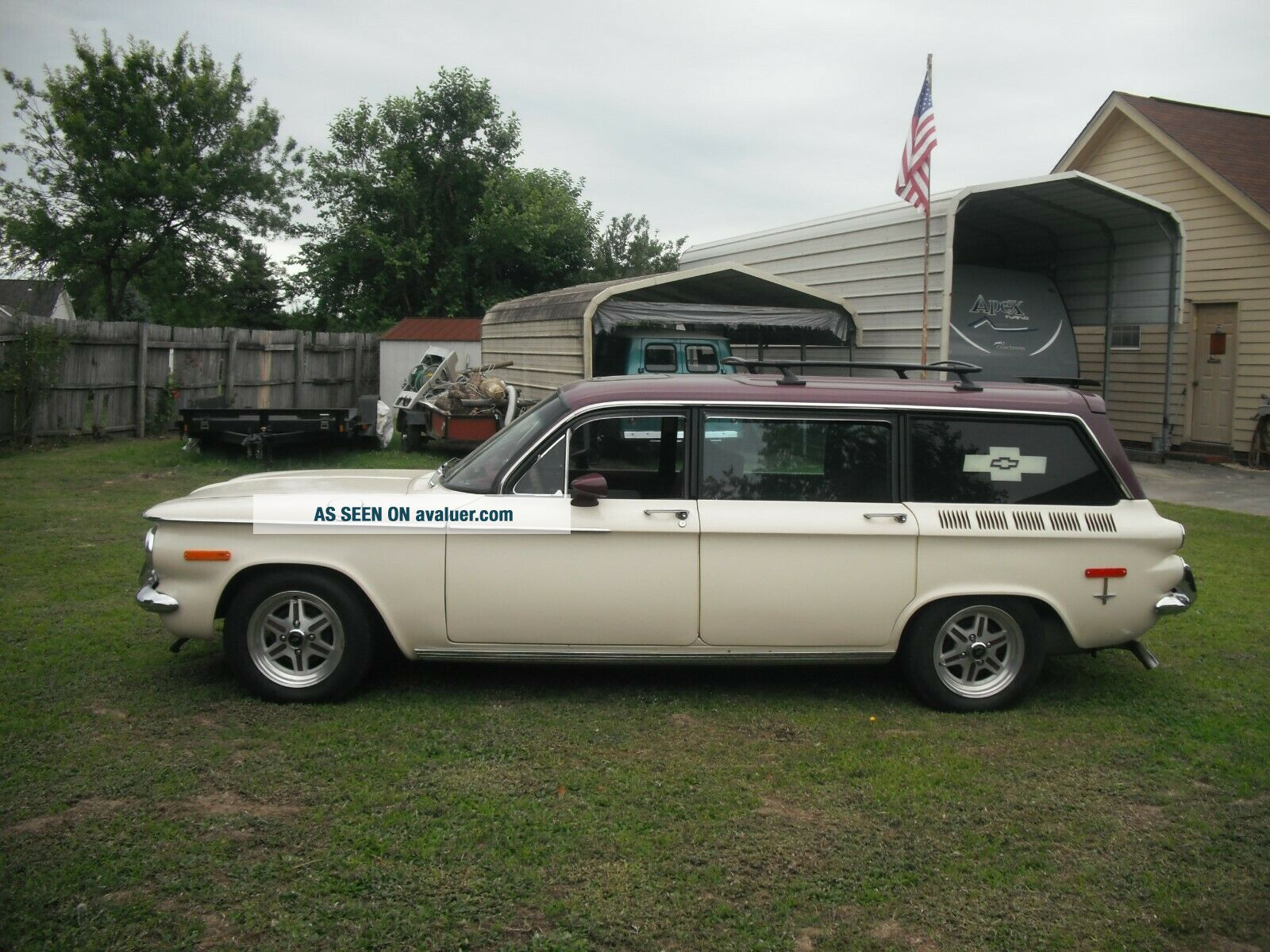 automobile corvair station station
