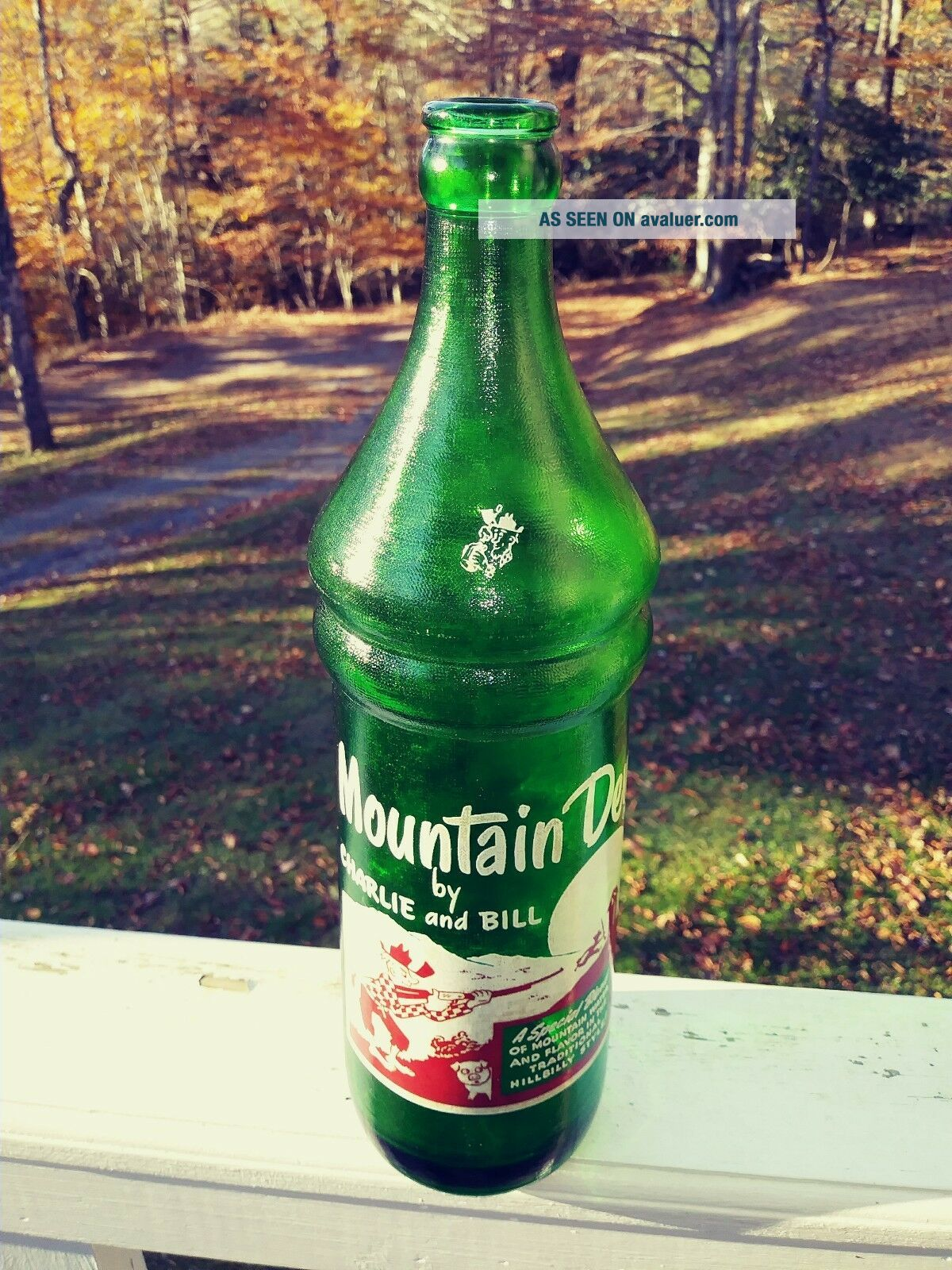 Mountain Dew Bottle By Charlie And Bill Tri - City