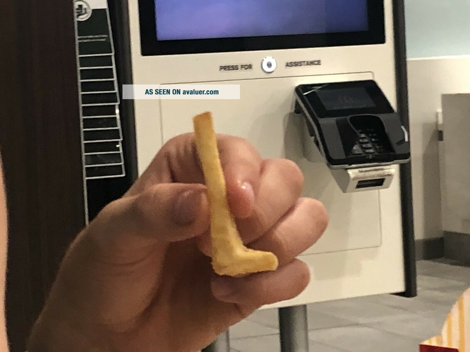 L - Shaped McDonald's French Fry