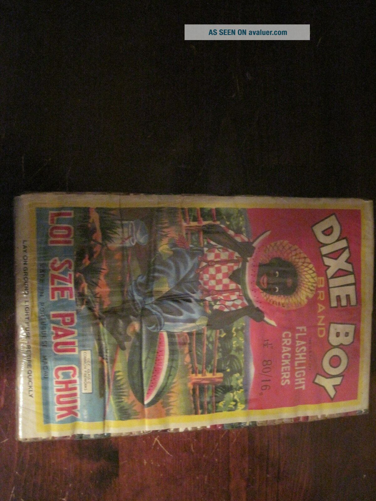 Dixie boy Firecracker Brick and 80 Pack Labels