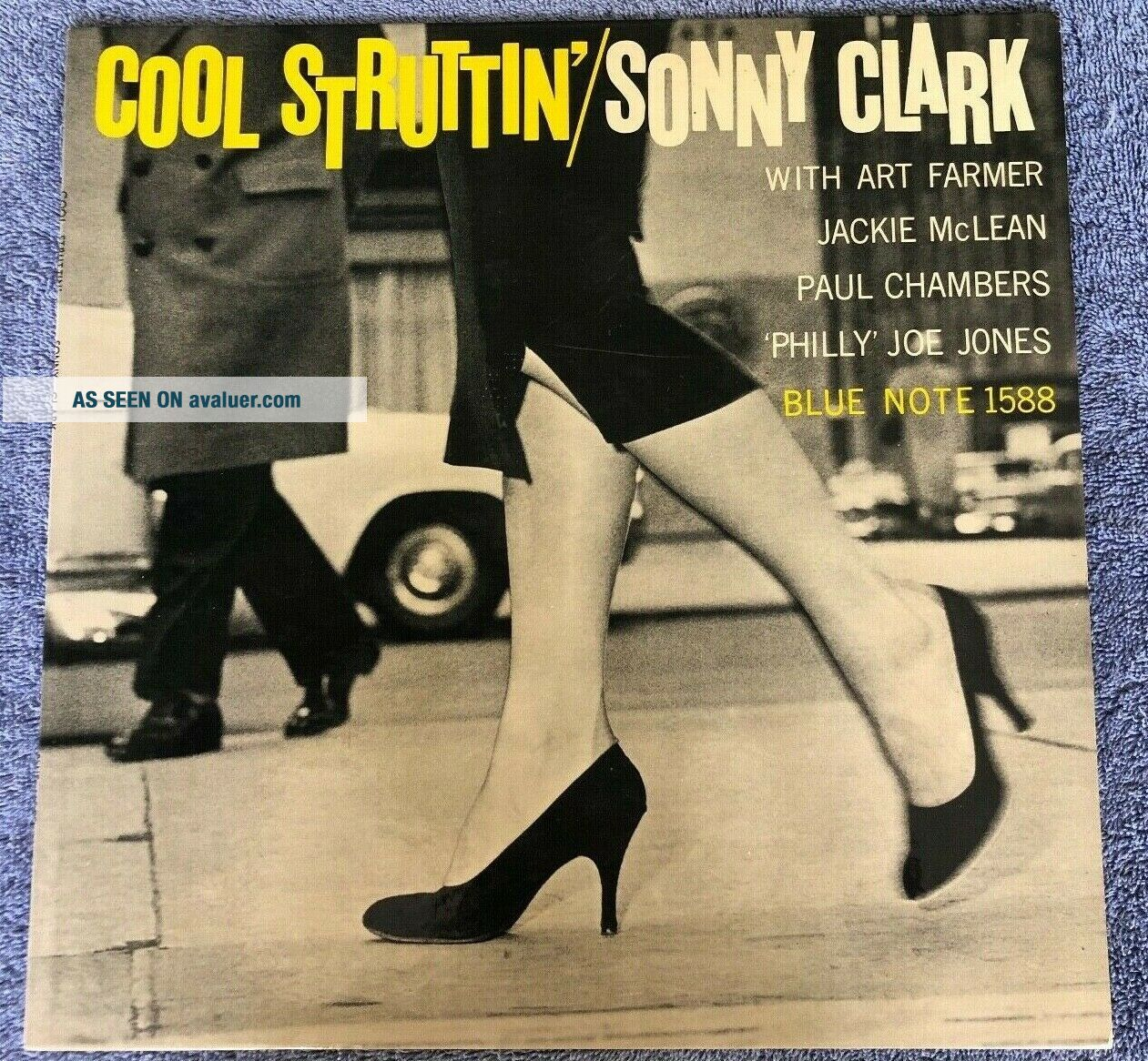 Cool Struttin ' with Sonny Clark / Mono / Ear and RVG / NM - plus archival cond.