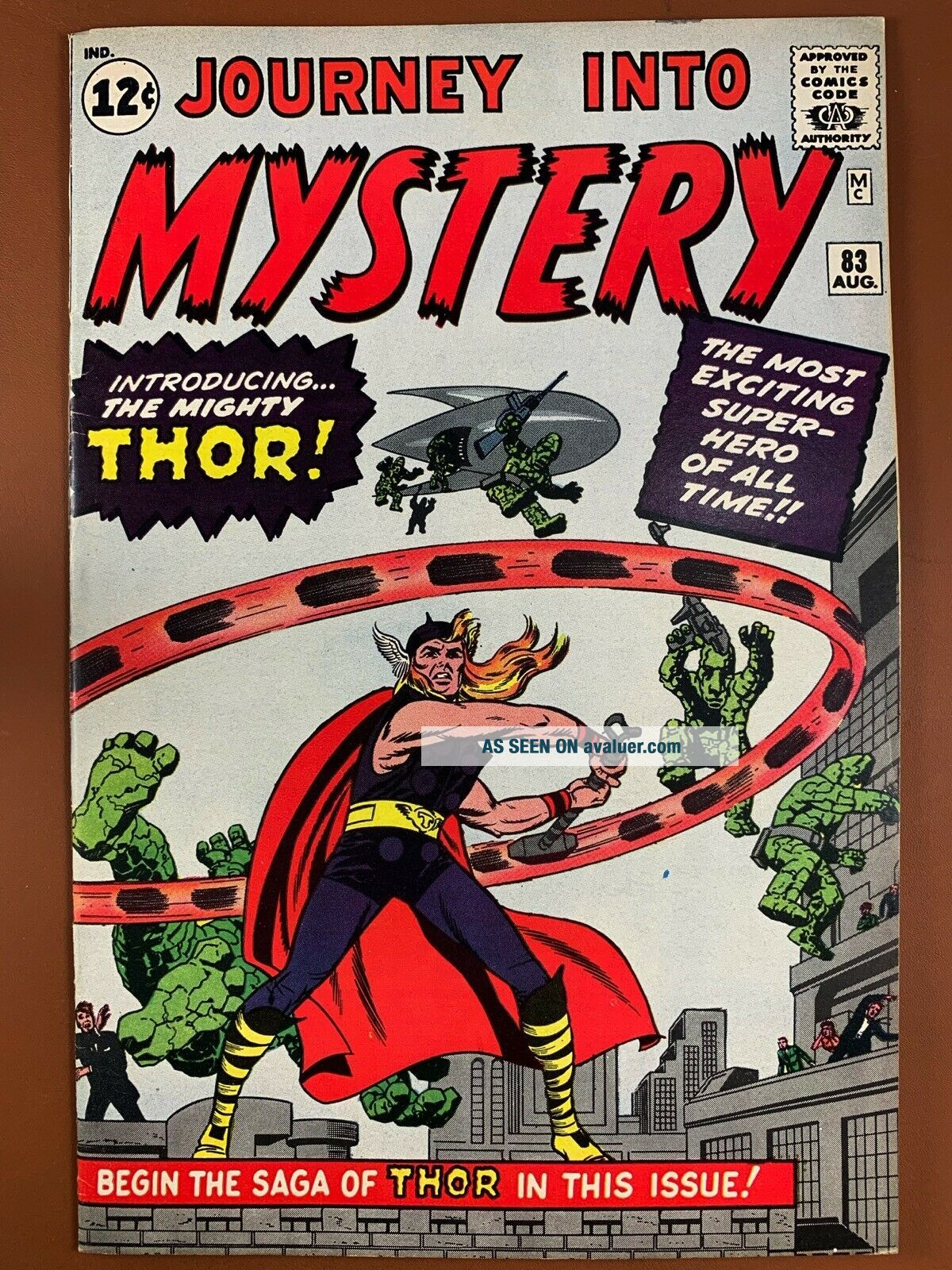 Journey Into Mystery 83 (1962 Marvel Comics) 1st appearance of Thor Silver Age