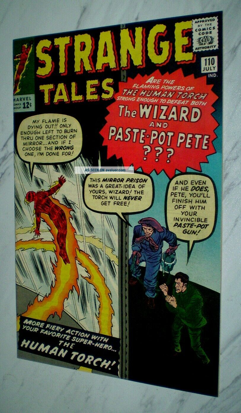 Strange Tales 110 NM - 9.  2 OW pages 1963 Marvel 1st appearance of Doctor Strange